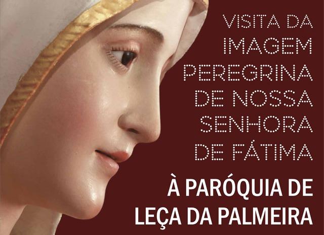 Imagem Peregrina em Leça