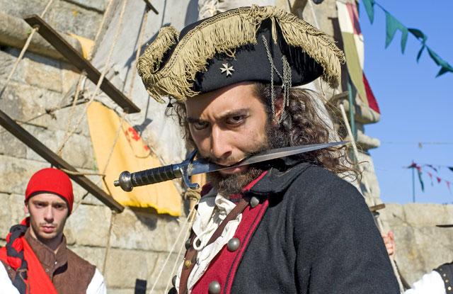 Os Piratas em Leça da Palmeira