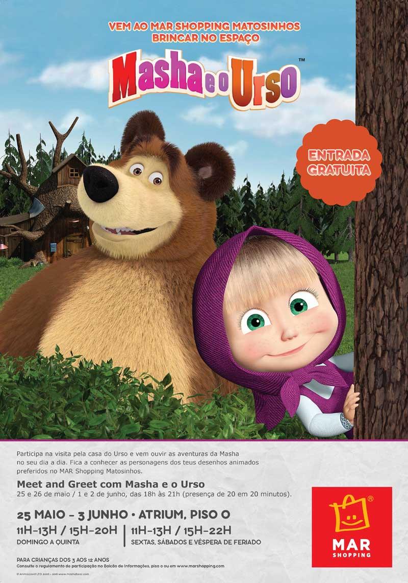 Cartaz Masha e o Urso